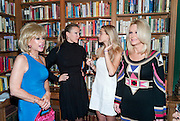 SALLY FARMILOE; CAPRICE; JADE FARMILOE; TRICIA WALSH-SMITH,  Launch of  KILIMANJARO APPEAL in aid of TODAY AND TOMORROW and HOPE HOUSE , THE WOMEN'S UNIVERSITY CLUB, S. Audley sq. London. 18 October 2010. <br />