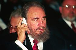 Italy, Rome - January 31, 1993.Fidel Castro  .de (Credit Image: © Sottile/Fotogramma/Ropi via ZUMA Press)
