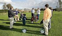 Golfclinic-golfles bij AMSTELHOF Golfschool. Copyright Koen Suyk