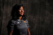Ket Preamchuen during portrait session prior to the second stage of LPGA Qualifying School at the Plantation Golf and Country Club on Oct. 6, 2013 in Vience, Florida. <br /> <br /> <br /> ©2013 Scott A. Miller