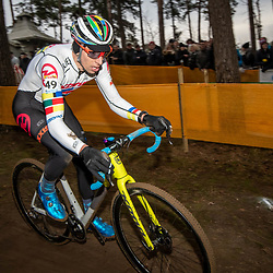 26-12-2019: Cycling: CX Worldcup: Heusden-Zolder: Panamerican Champion Kerry Werner(USA)