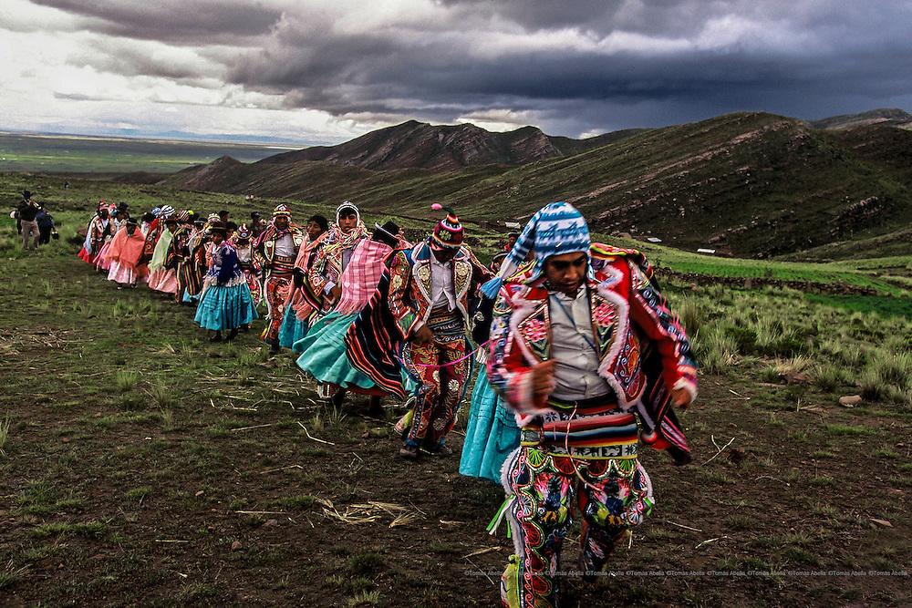 Konko's carnival. Bolivia.