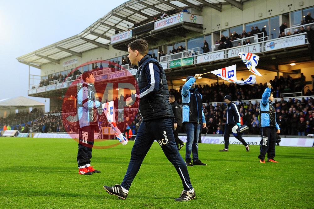 Bristol Rovers manager Darrell Clarke - Mandatory by-line: Dougie Allward/JMP - 10/12/2016 - FOOTBALL - Memorial Stadium - Bristol, England - Bristol Rovers v Bury - Sky Bet League One