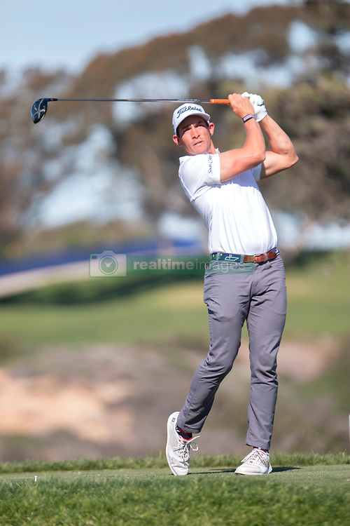 January 27, 2019 - San Diego, CA, U.S. - SAN DIEGO, CA - JANUARY 27: Scott Stallings during the final round of the Farmers Insurance Open at Torrey Pines Golf Club on January 27, 2019 in San Diego, California. (Photo by Alan Smith/Icon Sportswire) (Credit Image: © Alan Smith/Icon SMI via ZUMA Press)