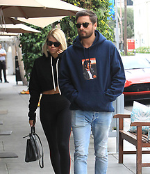 November 1, 2017 - Los Angeles, California, USA - 10/31/17.Sofia Richie and Scott Disick are seen in Los Angeles, CA. (Credit Image: © Starmax/Newscom via ZUMA Press)