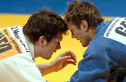 19-03-2006 JUDO: DUTCH OPEN: ROTTERDAM<br /> Danny Meeuwsen haalde een bronzen plak in de gewichtsklasse tot 100 kilo. In het gevecht om de medaille was hij te sterk voor de sterke Duitser Benjamin Behrla<br /> Copyrights: WWW.FOTOHOOGENDOORN.NL