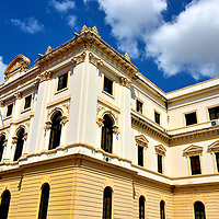 Palacio Nacional in Casco Viejo, Panama City, Panama <br />