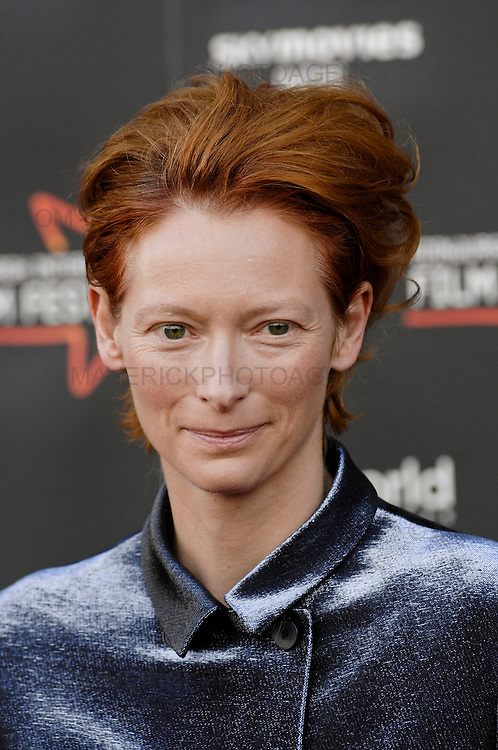 """Hallam Foe"", a magical story of redemptive love, loss, and life on the rooftops of Edinburgh. Young Hallam is played by Jamie Bell in his first starring role since Billy Elliot.  Pictured Tilda Swinton"
