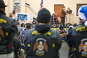 12/8/13 12:30:25 PM -- Albuquerque NM  --Presentation of supplies for Operation Comfort Warriors gifts to the Raymond G. Murphy VA Medical Center in Albuquerque, N.M..<br /> <br />  --    Photo by Steven St John