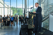 Republic Bank Vice-President Steve Deweese at the 10-year anniversary celebration of Republic Bank's Private Banking and Business Banking divisions Wednesday, May 17, 2017, at the Speed Art Museum in Louisville, Ky. (Photo by Brian Bohannon)