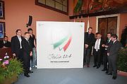 ROMA 1 LUGLIO 2008<br /> BASKET<br /> PRESENTAZIONE CANDIDATURA MONDIALI 2014<br /> NELLA FOTO LOGO<br /> FOTO CIAMILLO