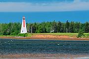 Annandale Rear Range Lighthouse <br /> Annandale<br /> Prince Edward Island <br /> Canada