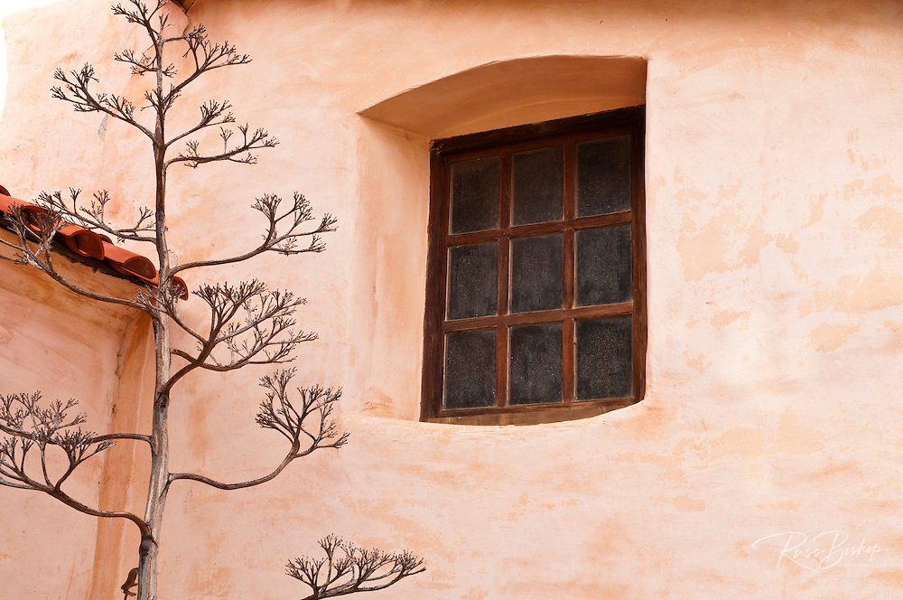 Window, Mission San Antonio de Padua (3rd California Mission - 1771), California