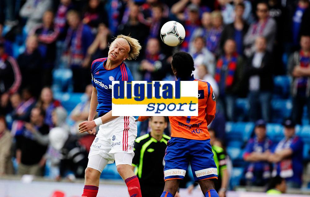 Fotball<br /> Tippeligaen<br /> Ullev&aring;l Stadion , 02.07.12<br /> V&aring;lerenga - &Aring;lesund<br /> H&aring;vard Nielsen<br /> Foto: Eirik F&oslash;rde