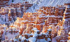 Winter at Bryce Canyon NP, Utah