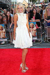 Hayley Roberts arriving for the premiere of Keith Lemon The Film in London, Monday, 20th August 2012. Photo by: Stephen Lock / i-Images