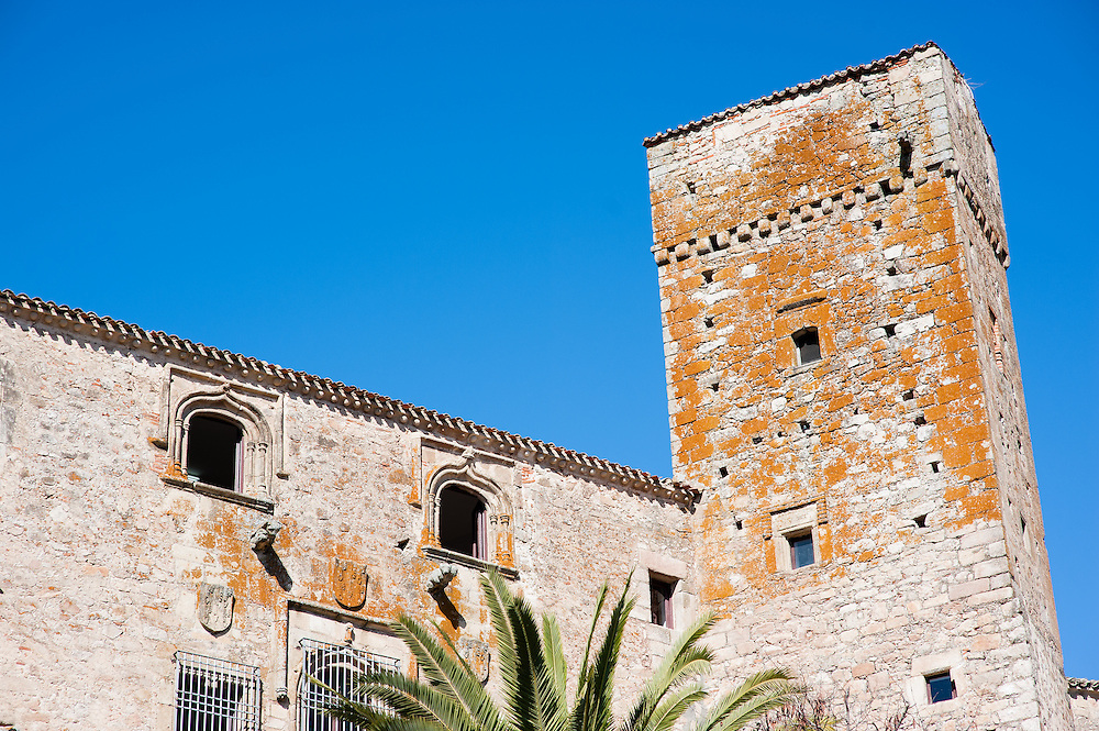 Medieval palace in Trujillo (Spain)