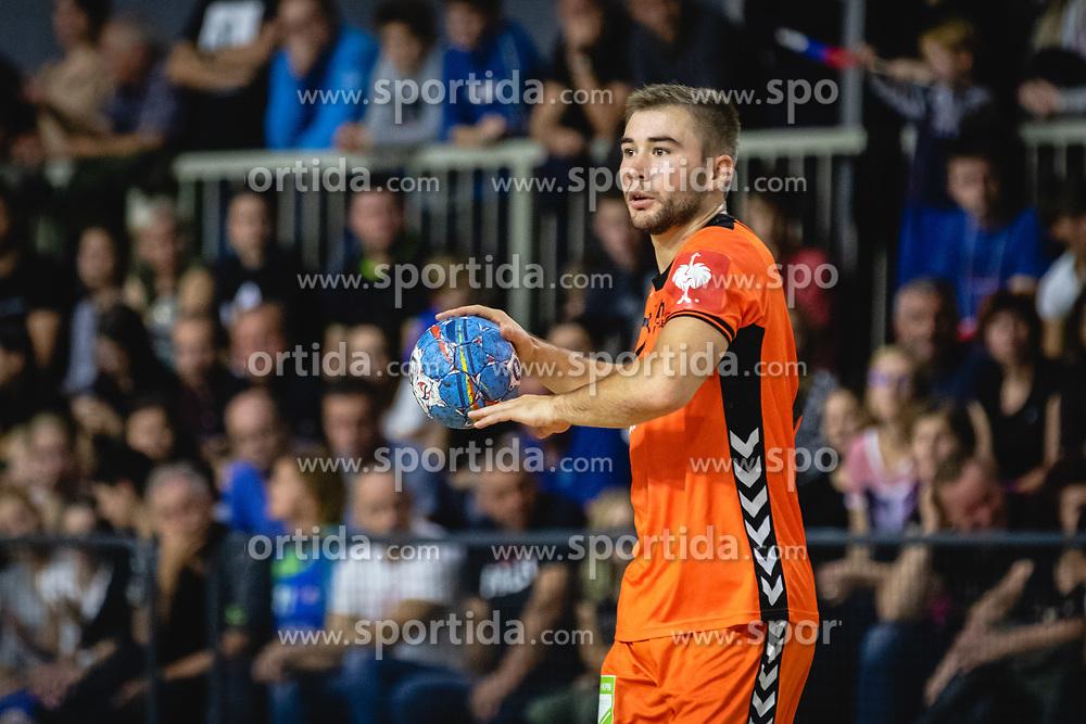 Luc Stein of Nederland during friendly handball match between Slovenia and Nederland, on October 25, 2019 in Športna dvorana Hardek, Ormož, Slovenia. Photo by Blaž Weindorfer / Sportida