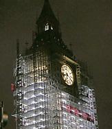 Big Ben under construction  Photo by Dennis Brack