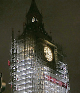 Big Ben under construction  Photo by Dennis Brack