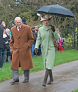 Royals Attend Christmas Church Service, Sandringham 3
