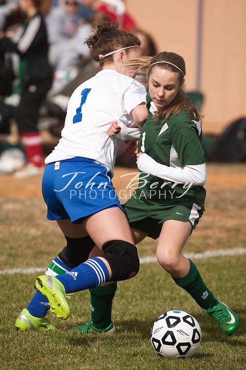 MCHS JV Girls Soccer .vs William Monroe  .3/24/2009