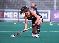 AMSTELVEEN - Sosha Benninga (A'dam) tijdens de  training van de dames van Amsterdam (AH&BC) voor de eerste competitiewedstrijd. COPYRIGHT KOEN SUYK
