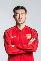 **EXCLUSIVE**Portrait of Chinese soccer player Gao Huaze of Hebei China Fortune F.C. for the 2018 Chinese Football Association Super League, in Marbella, Spain, 26 January 2018.