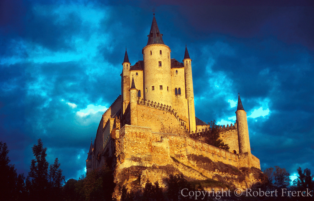 SPAIN, CASTILE, SEGOVIA Alcazar Castle; for Ferdinand and Isabel