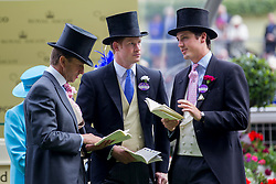 Prince Harry and Jake Warren at Royal Ascot. Image ©Licensed to i-Images Picture Agency. 19/06/2014. Ascot, United Kingdom. Royal Ascot. Ascot Racecourse. Picture by i-Images