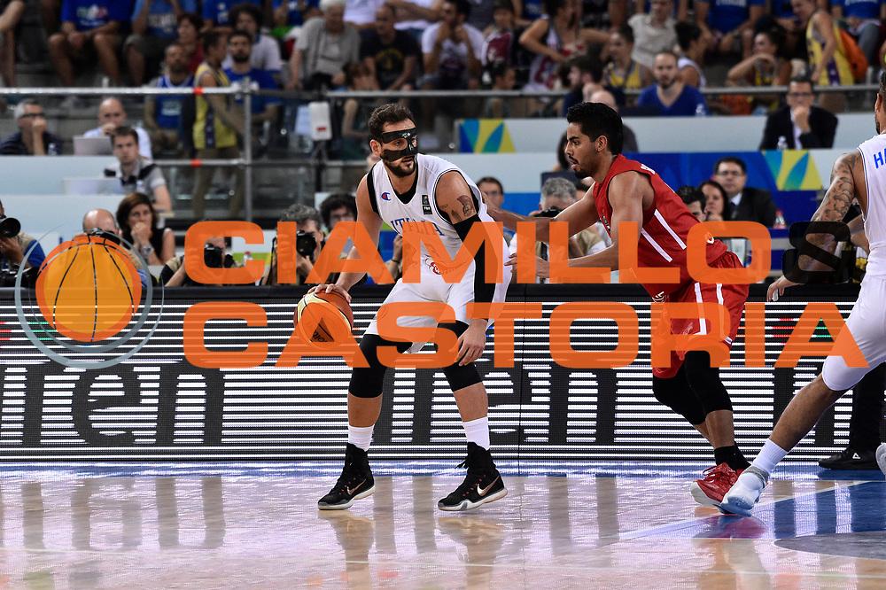 DESCRIZIONE: Torino FIBA Olympic Qualifying Tournament Italia - Messico<br /> GIOCATORE: Marco Stefano Belinelli<br /> CATEGORIA: Nazionale Italiana Italia Maschile Senior<br /> GARA: FIBA Olympic Qualifying Tournament Italia - Messico<br /> DATA: 08/07/2016<br /> AUTORE: Agenzia Ciamillo-Castoria