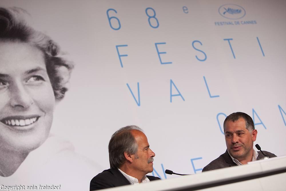 """The Ice and the sky"" - ""Le Glace Et Le Ciel"" Press Conference - The 68th Annual Cannes Film Festival"
