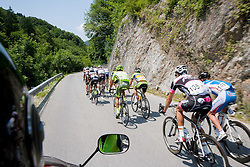 Marko Pavlic (SLO) of Radenska during Stage 3 from Skofja Loka to Vrsic (170 km) of cycling race 20th Tour de Slovenie 2013,  on June 15, 2013 in Slovenia. (Photo By Vid Ponikvar / Sportida)
