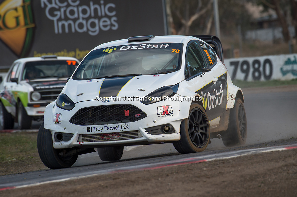 Troy Dowel - Ford Fiesta RX   - Rallycross Australia - Winton Raceway - 16th July 2017
