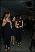 LIZZY MACGREGOR; PRINCESS EUGENIE; JULES DE BOINVILLE, Julia Peyton-Jones, Hans Ulrich Obrist and Coach host the Serpentine Future Contemporaries Party. Serpentine Sackler Gallery. Kensington Gdns. London. 21 February 2015
