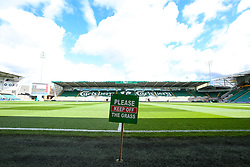 A general view of Franklin's Gardens, home of Northampton Saints - Mandatory by-line: Robbie Stephenson/JMP - 28/09/2019 - RUGBY - Franklin's Gardens - Northampton, England - Northampton Saints v Wasps - Premiership Rugby Cup