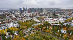 United States, Washington, Bellevue (aerial view)