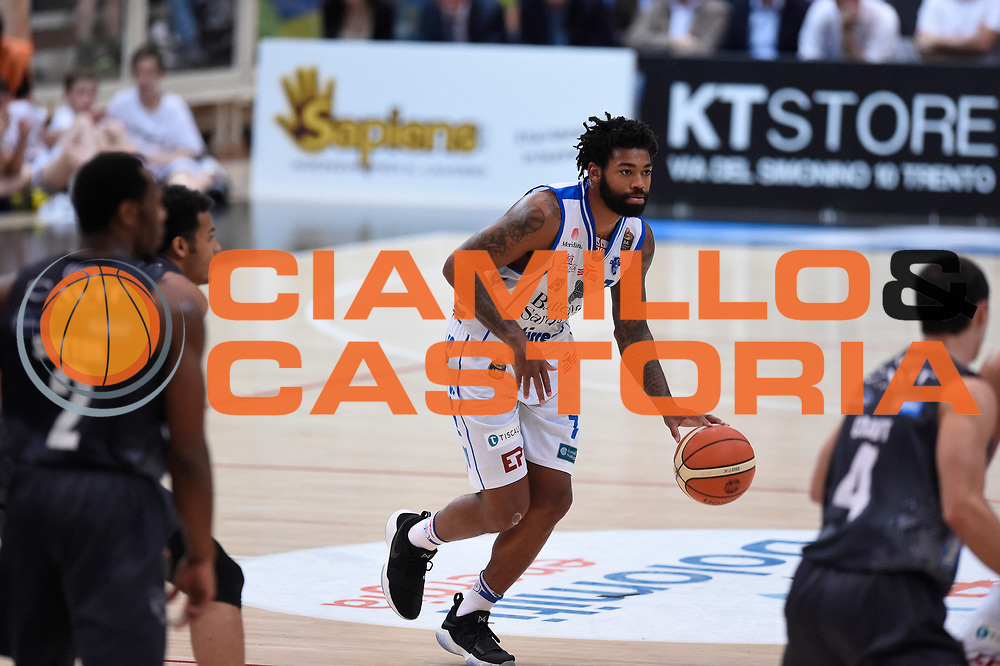 Lacey Trevor<br /> Quarti di Finale Gara 2<br /> Legabasket A 2016,2017<br /> Trento 14,05,2017<br /> Foto Ciamillo-Castoria,GiulioCiamillo