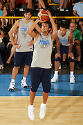 DESCRIZIONE : Bormio Ritiro Nazionale Italiana Maschile Preparazione Eurobasket 2007 Allenamento <br /> GIOCATORE : Marco Belinelli<br /> SQUADRA : Nazionale Italia Uomini EVENTO : Bormio Ritiro Nazionale Italiana Uomini Preparazione Eurobasket 2007 GARA : <br /> DATA : 27/07/2007 <br /> CATEGORIA : Allenamento <br /> SPORT : Pallacanestro <br /> AUTORE : Agenzia Ciamillo-Castoria/S.Silvestri <br /> Galleria : Fip Nazionali 2007 <br /> Fotonotizia : Bormio Ritiro Nazionale Italiana Maschile Preparazione Eurobasket 2007 Allenamento <br /> Predefinita :