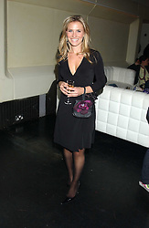TV sports presenter GEORGIE THOMPSON at a launch party for Kraken Opus's new luxury sports books held at Sketch, 9 Conduit Street, London W1 on 22nd February 2006.<br /><br />NON EXCLUSIVE - WORLD RIGHTS