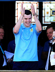 Burnley's Michael Keane - Mandatory by-line: Matt McNulty/JMP - 09/05/2016 - FOOTBALL - Burnley Town Hall - Burnley, England - Burnley FC Championship Trophy Presentation