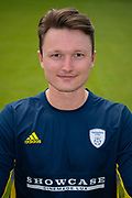 Aneurin Donald of Hampshire during the 2019 press day for Hampshire County Cricket Club at the Ageas Bowl, Southampton, United Kingdom on 27 March 2019.