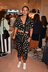 Cora Corre at launch of Bimba Y Lola, 295 Brompton Road, London England. 26 April 2018.