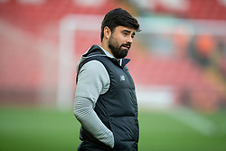 LIVERPOOL, ENGLAND - Sunday, January 5, 2020: Liverpool's elite development coach Vitor Matos before the FA Cup 3rd Round match between Liverpool FC and Everton FC, the 235th Merseyside Derby, at Anfield. (Pic by David Rawcliffe/Propaganda)