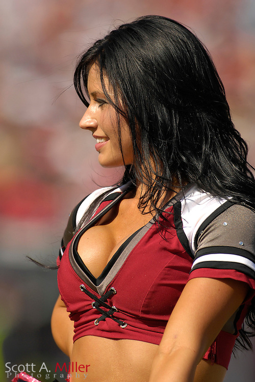 Nov. 4, 2007; Tampa, FL, USA; Tampa Bay Buccaneers .cheerleaders during Bucs' 17-10 win over the Arizona Cardinals at Raymond James Stadium. ...©2007 Scott A. Miller