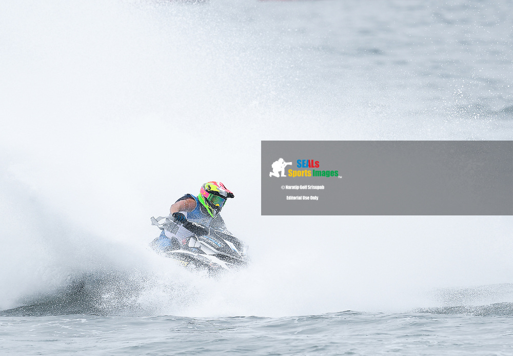 PATTAYA, THAILAND - DECEMBER 09: Bailey Cunningham (81) of Australia and Sunshine Coast Powersports in action during the Pro Runabout GP Moto3 at the Thai Airways International Jet Ski World Cup 2018, Jomtien Beach, Pattaya, Thailand on December 09, 2018. <br /> .<br /> .<br /> .<br /> (Photo by: Naratip Golf Srisupab/SEALs Sports Images)<br /> .<br /> Any image use must include a mandatory credit line adjacent to the content which should read: Naratip Golf Srisupab/SEALs Sports Images