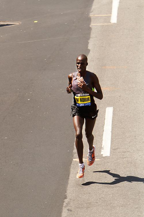 Wesley Korir wins