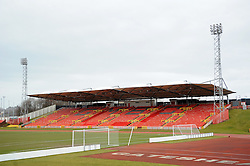 Gateshead International Stadium - Photo mandatory by-line: Neil Brookman/JMP - Mobile: 07966 386802 - 28/02/2015 - SPORT - Football - Gateshead - Gateshead International Stadium - Gateshead v Bristol Rovers - Vanarama Football Conference