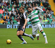 Dundee's Greg Stewart and Celtic's Nadir Çiftçi  - Celtic v Dundee - Ladbrokes Premiership at Celtic Park<br /> <br /> <br />  - © David Young - www.davidyoungphoto.co.uk - email: davidyoungphoto@gmail.com