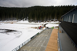 Hotel center at Pokljuka,  on November 16, 2009, in Pokljuka, Slovenia.   (Photo by Vid Ponikvar / Sportida)